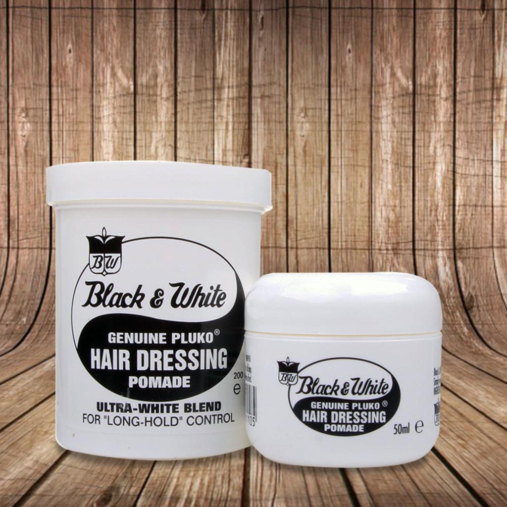 Black And White Original Hair Dressing Pomade