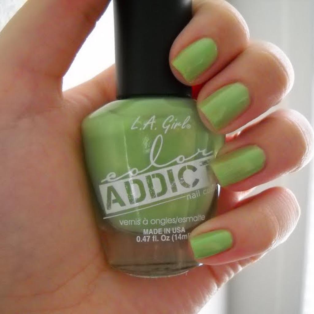 L.A. Girl Color Addict Polish